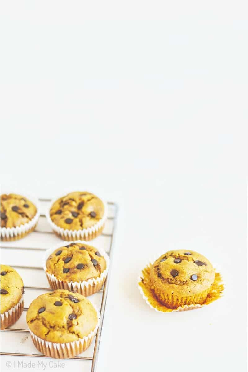 eggless wholewheat muffins with jaggery