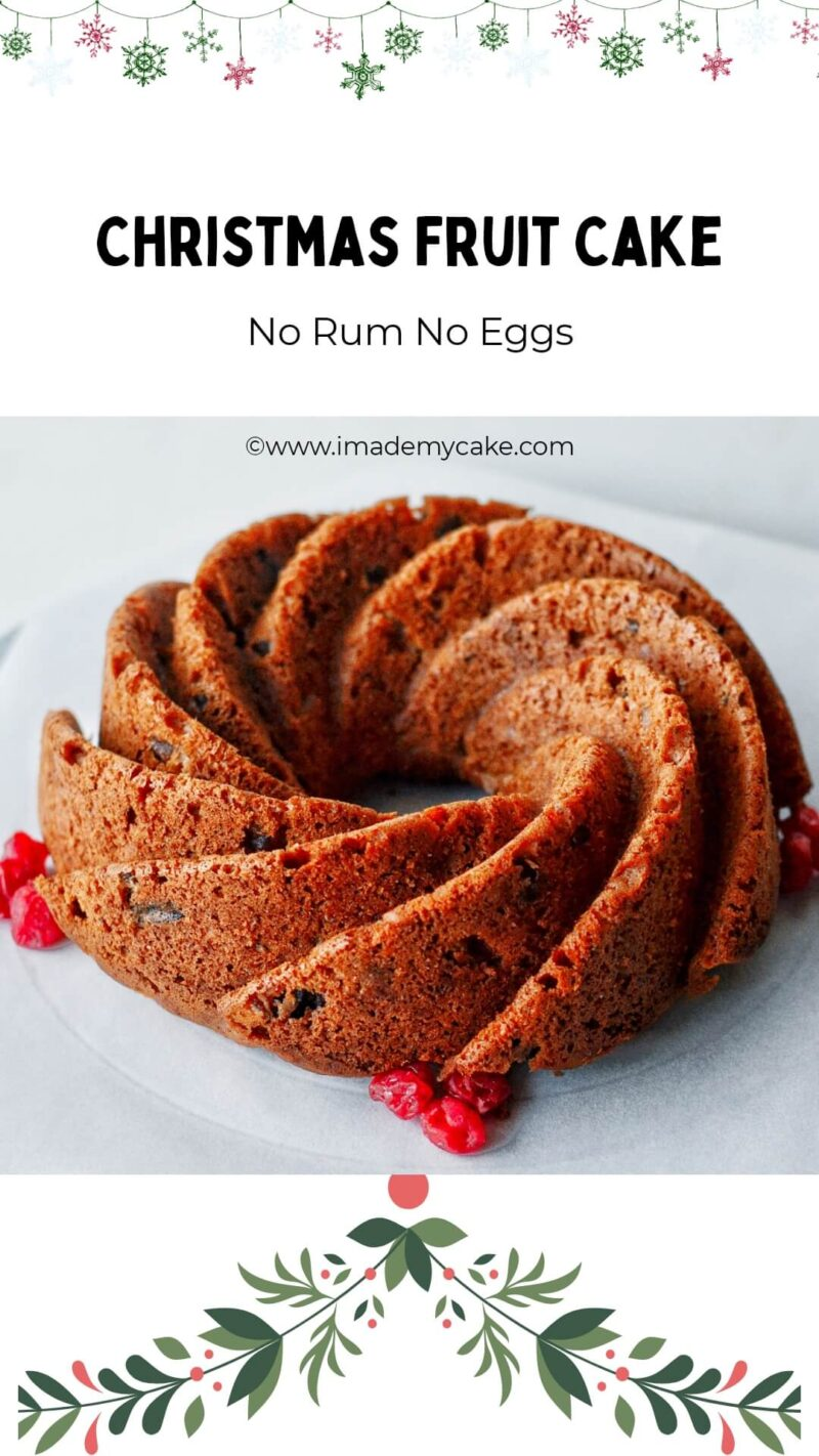 christmas fruit cake without eggs and rum