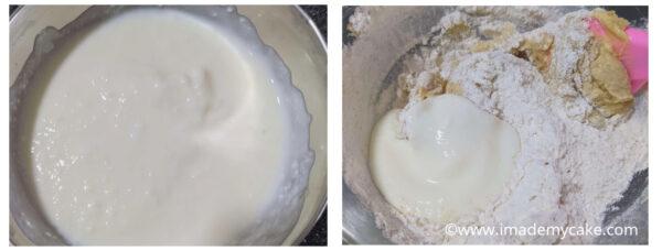 yogurt for fruit cake