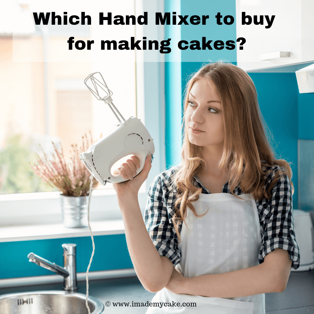 a girl using a hand mixer for home baking