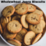 wholewheat jeera biscuits